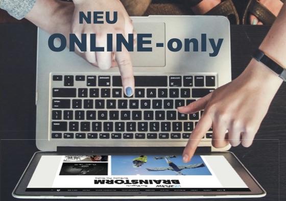 Das Brainstorm-Magazin gibt es nur noch online