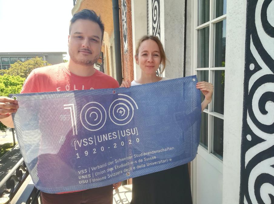 100 Jahre Verband der Schweizer Studierendenschaft