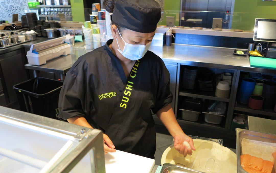 Schmeckt Sushi bei uns wie japanisches Sushi?
